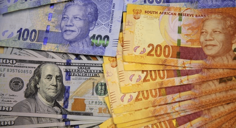 South Africa Rand takes a beating as SA enters a technical recession