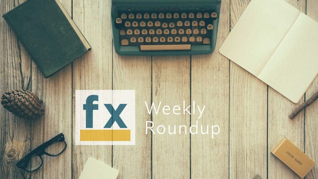 The Weekly Round Up – 2020-09-25