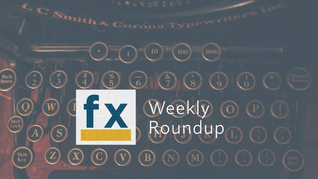 The Weekly Round Up – 2020-09-11