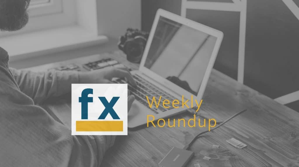 Weekly Round Up – 30 October 2020
