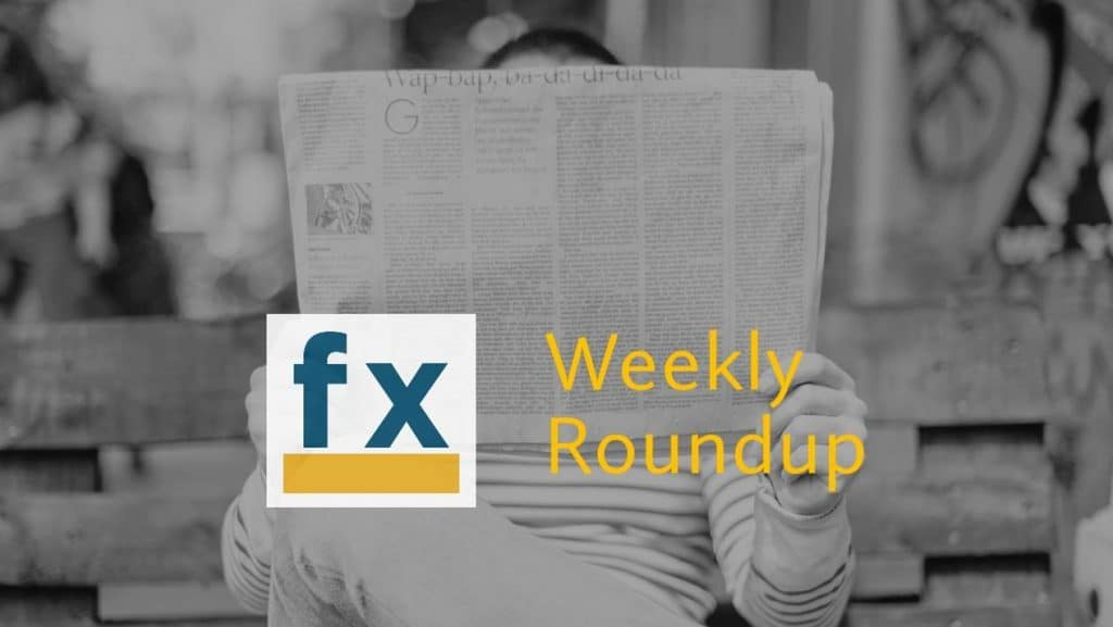 Weekly Round Up – 9 October 2020