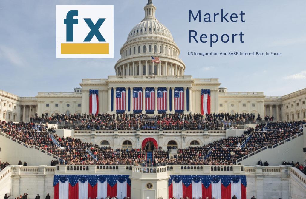 Rand News – US Inauguration Week & SARB Rate Decision.